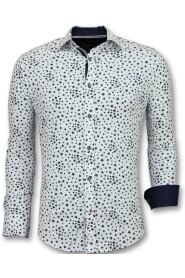 Shirts Regular Fit Floral Blouse Men 3007