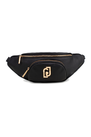 Belt bag with logo and front pocket