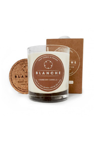 Cranberry Canella, Blanche Candle