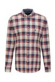 Casual-Fit Cotton Check Shirt