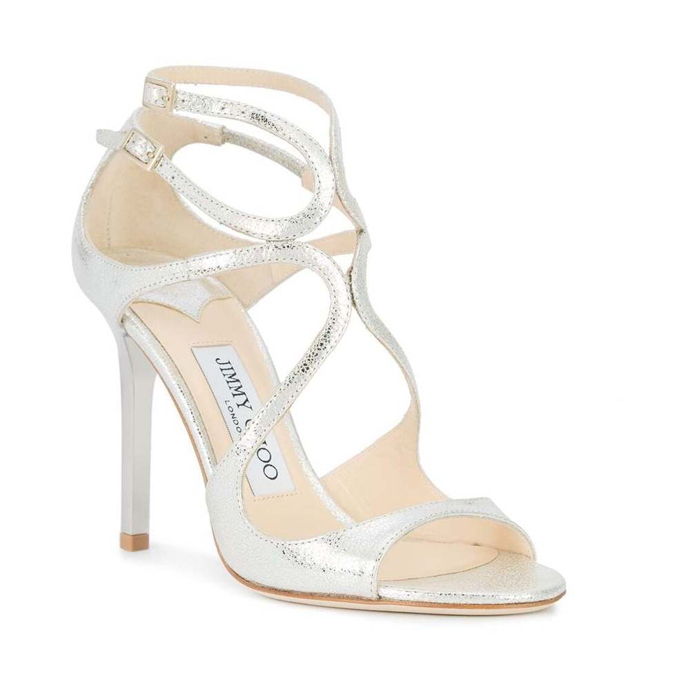Gray Sandals | Jimmy Choo | High Heel Sandals | Women's shoes