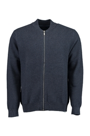 Cardigan with structure