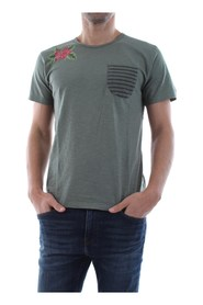 BOMBOOGIE TM5685 T JSSG T SHIRT AND TANK Men GREEN