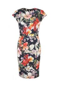 letnia sukienka w modne kwiaty