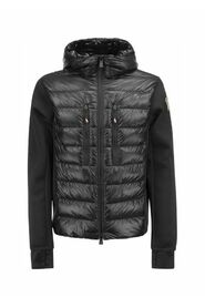Two-Material Puffer Jacket