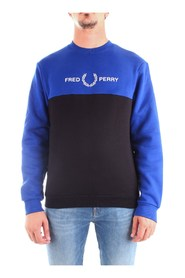 FRED PERRY M7519 Sweat Men BLUE