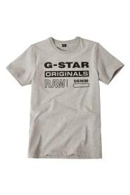 Raw Originals Logo T-skjorte
