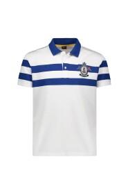Piqué Poloskjorte Med Emblem