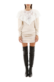 Beja mini dress with lace
