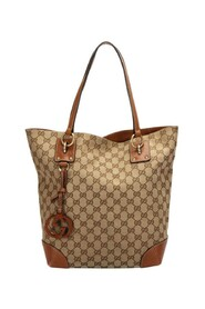 Pre-owned GG Canvas Medium Charm Tote