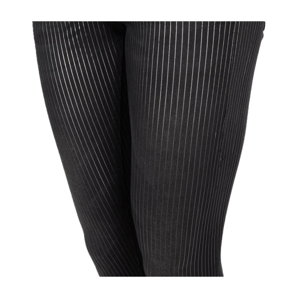 Black Spodnie Jegging  Guess  Spodnie materiałowe dopasowane  Showroom.pl 3PeRY