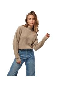 Maisie high neck knit pullover