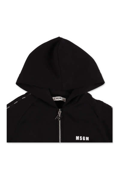 Bonne vente Black Sweatshirt MSGM Sweat-shirts et sweat-shirts à capuche P5IVG