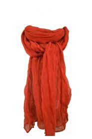 Anna sjal röd