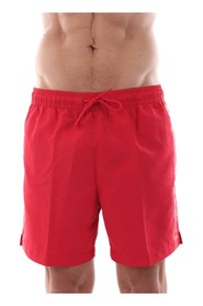 CALVIN KLEIN KM0KM00294 MEDIUM DRAWSTRING swimsuit  sea and pool Men RED