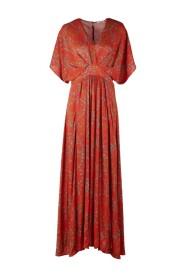 Victoria Floral Long Dress,