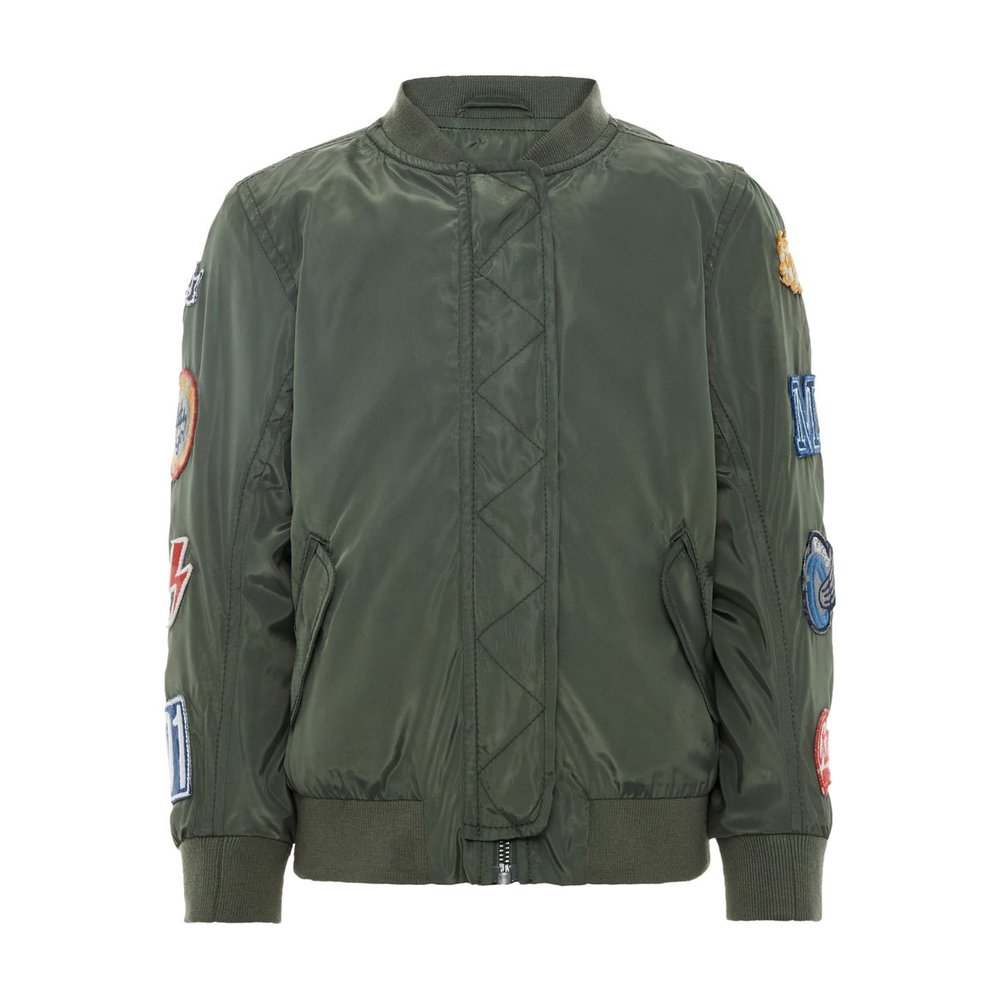 bomber jacket badge