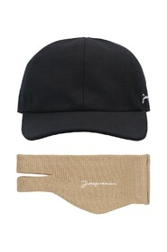 cap with neck warmer