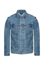 Stonewashed denim jacket