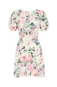 Venissa Floral Print Mini Dress