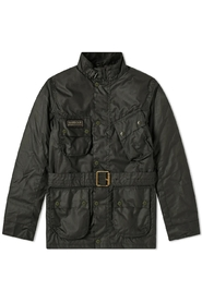 International Gekleurde International Wax Jacket