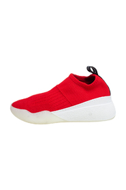 Knit Fabric Slip On Sneakers