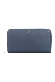 Pre-owned Zip Around Long Wallet Leather Calf