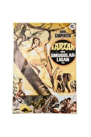 Poster Tarzan and the smugglers' league