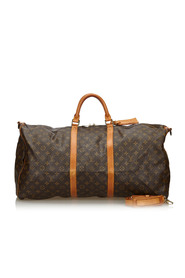 Monogram Keepall Bandouliere 60 Canvas