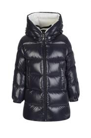Hooded Zip-Up Down Jacket