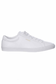 Jim Rickey Chop Leather White Sneakers