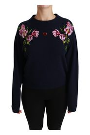 Floral Patch Cashmere Sweater