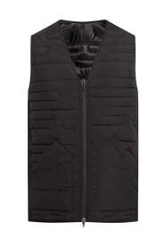 Vest with stitching