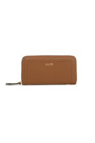 Wallet with Zip and Logo