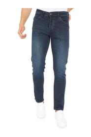 Jeans Heren Regular Fit Donkerblauw - DP11