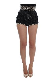 Crystal Sequined Mini Shorts