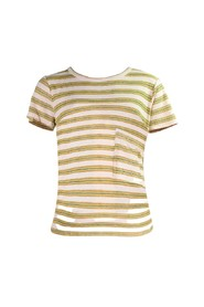 The Long Pocket Stripped Tee