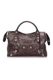 Leather Motocross Giant City Satchel