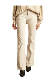 Fraise flared corduroy trousers