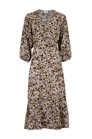 Anela Graphic Flower klänning