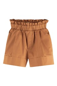 Wider fit cotton shorts