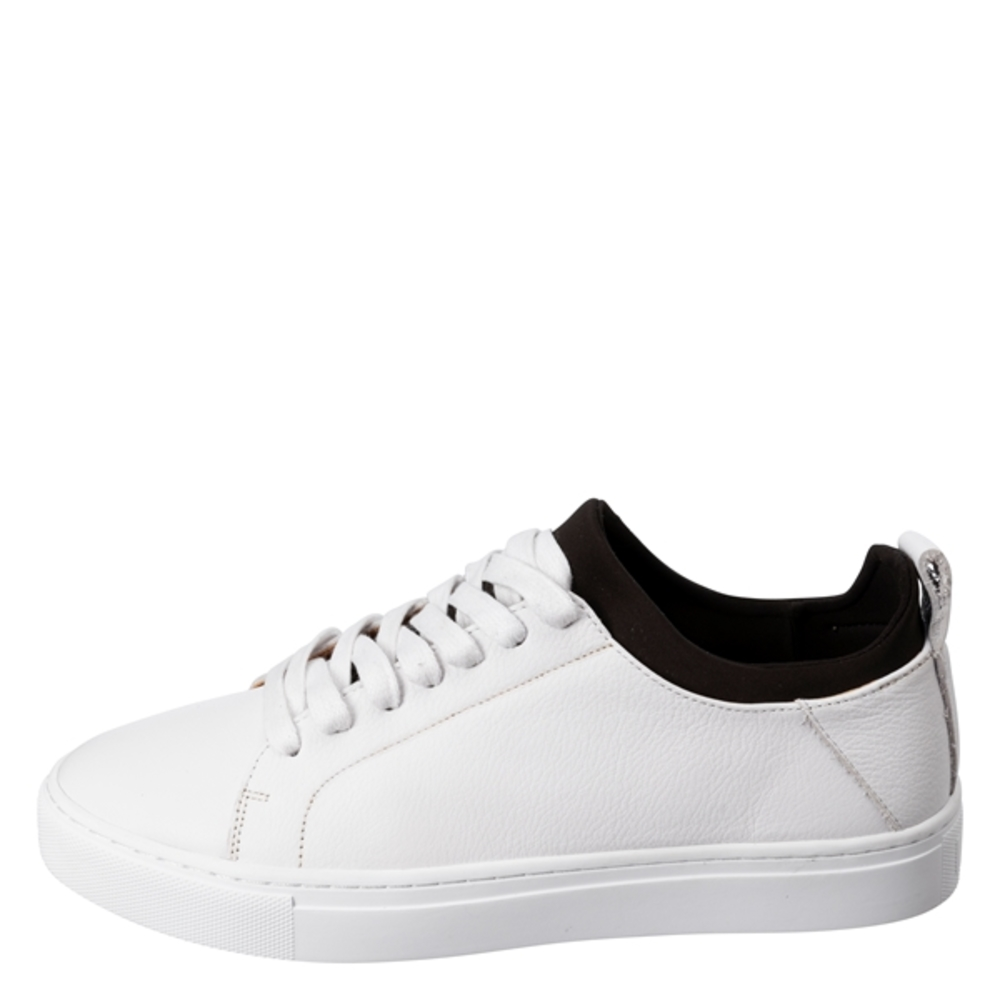 LEATHER SNEAKER WITH SOCK INSE