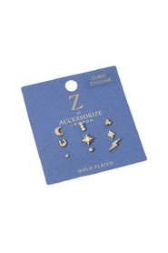 9X Stud Set A J Z Earring
