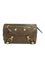 Pre-owned Motocross Giant 21 Leather Clutch Bag