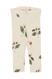 Off White Acorn Printed Leggings