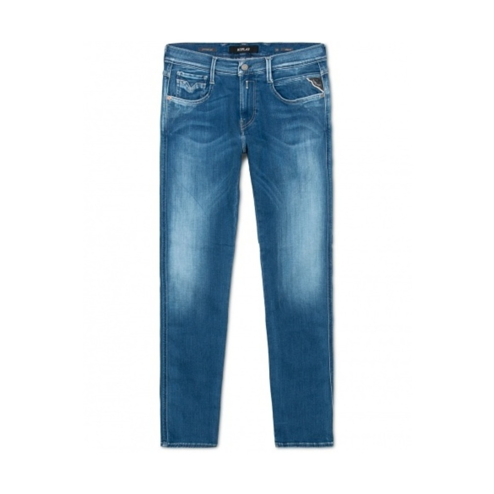Replay Joi Pants Jeans Skinny Fit Dame Blåsort Denim Klær