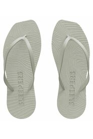 Tapered Flip Flop White