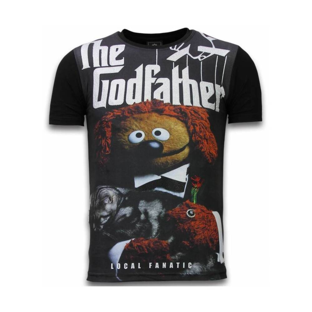 The Godfather Dog  - Digital Rhinestone T-shirt