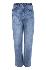 Highwaist Straight Jeans