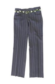 Pinstripe & Floral Pants -Pre Owned Condition Excellent
